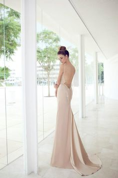 NURIT HEN 2013 COLLECTION ~ blush wedding gown silk char mouse