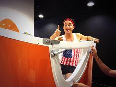 On arrête plus Bertrand Chameroy ! #aquabike #backstage #TPMP