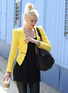 Gwen Stefani Hairstyle How-To: The Wispy, Messy Bun We Had To Copy