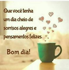 Bom dia Broken Screen Wallpaper, Portuguese Quotes, Morning Greetings Quotes, Good Morning, Morning Gif, Texts, Thoughts, Day, Tableware