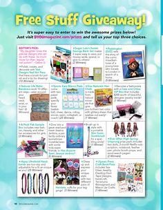 Byou magazine prizes