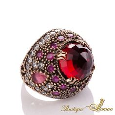 #jewellery Hareem Exclusive Collection Ring HS-0018  #jewelry #ottoman