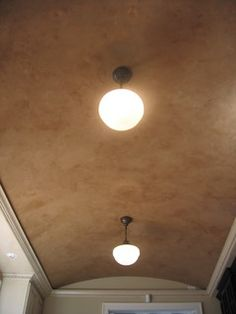 Kitchen Barrel Ceiling - Italian Venetian Plaster - Bella Faux Finishes - traditional - kitchen - other metro - by Bella Faux Finishes
