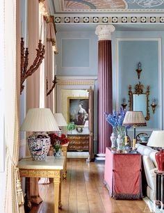 Mark Gillette Devises an Exquisite Apartment in an English Country Estate Photos | Architectural Digest