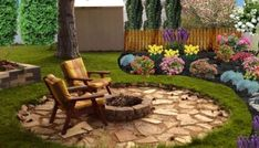 34 Favourite Front Yard And Backyard Landscaping Ideas on A Budget - Home-Garden-Design-Decoration Landscaping Along Fence, Front Yard Landscaping, Landscaping Ideas, Flower Garden Design, Home Garden Design, Yard Design, Ponds Backyard, Garden Ponds, Water Garden