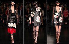 アレキサンダー · マックイーンの 2015年コレクション 04 を着用する準備ができてガレージ若手パリのファッション週間春夏 381
