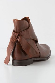 $308 leather booties anthropologie