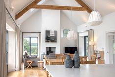 Marlacoo House, Co. Armagh — Paul McAlister Sustainable and Passive House Architects - Portadown, Belfast, Northern Ireland House Designs Ireland, Country House Interior, Traditional House, Home, Modern Bungalow, Passive House, House Interior, Modern Bungalow House, Bungalow Design