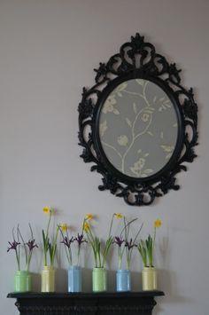 MAKE:  JAM JAR PLANTERS  --  by E on 2014-02-16 at Make, Do and Spend  --  Tags:  #JamJars #Spring #IndoorPlants  #HomeDecor
