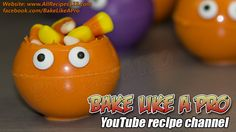 My Easy Halloween Candy Bowl Monsters Tutorial ★► CLICK PICTURE FOR VIDEO RECIPE !
