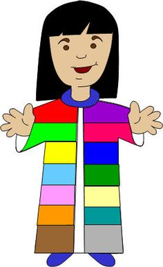 Children's version Bible story:  Joseph and His Coat of Many Colors