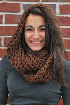 ExtraThick Cowl Hooded Cowl by TheShiveringForest on Etsy $23