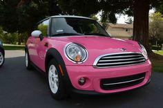 VWVortex.com - Full Car Vinyl Wrap: Pink Mini Cooper content