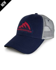 Wicked Catch Iconic Patch Trucker fishing hats are extremely comfortable a969f326228a