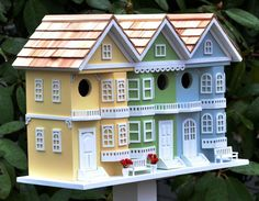 Decorative bird houses are unique addition to any home both indoor and outdoor. DIY ideas to make hand painted wooden bird houses will be a fun project