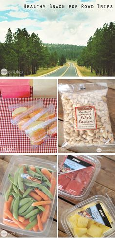 Heading on a family vacation? Pack these healthy road trip snacks, and skip the convenience store junk food trap!