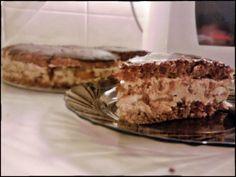 Orechovo - kávová torta