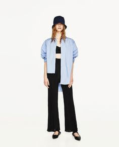 ZARA - WOMAN - RIBBED TROUSERS