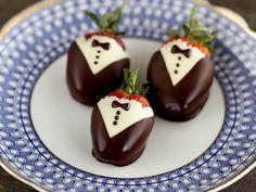 strawberry tuxedo