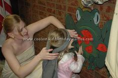 kiss the frog game / good gift idea for princess/knights