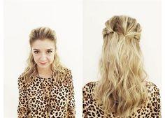 Chica de tapa: el peinado