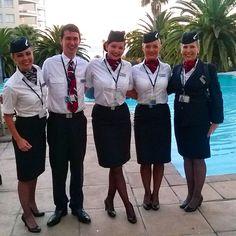 British Airways Cabin Crew #CapeTown #crewlife ✈️