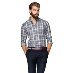 Windham Twill Check Button Down Shirt Blazers For Men, Men's Style, Button Down Shirt, Men Casual, Plaid, Mens Fashion, Boys, Check, Mens Tops