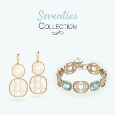 Seventies Collection Rebecca Gioielli...il bijoux non è mai stato così fashion! http://www.gioielleriagigante.it/categoria-prodotto/gioielli-donna/rebecca/page/2/