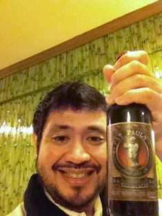 Fat Pauly's Maria Cacao Milk chocolate Stout! brewed with Malagos chocolates from Davao...