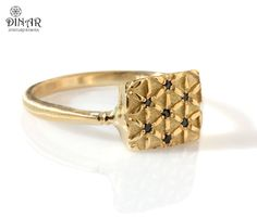 Hey, I found this really awesome Etsy listing at https://www.etsy.com/il-en/listing/192761852/14k-gold-ring-floral-patterned-ring