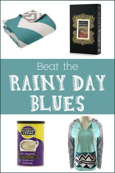 Beat the Rainy Day Blues | Tired of being cooped up inside on rainy days? Here are some tips that will have you actually looking forward to rain! | #Ad
