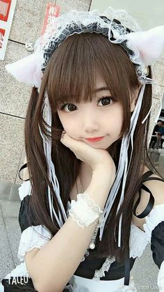 Beautiful Girl like FashitionBest 11 kawaiiiiiiiiiiiiii…… – Page 159666749276069542 Cosplay Kawaii, Anime Cosplay Girls, Cute Cosplay, Maid Cosplay, Asian Cosplay, Cosplay Outfits, Cute Korean Girl, Cute Asian Girls, Cute Girls