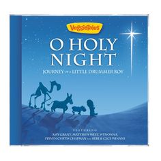 New Christmas CD from VeggieTales: O Holy Night, Journey of a Little Drummer Boy $9.99