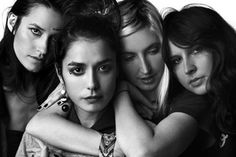 """Estreando o projeto da @heinekenbr """"The Art of Heineken"""" a banda feminina de rock @warpaintofficial faz show nesta sexta (3) e sábado (4) no MAC em São Paulo. Até o dia 12 de março vai ter uma programação musical bem interessante no museu. Vale fica de olho na agenda do local! #heineken #warpaint  via MARIE CLAIRE BRASIL MAGAZINE OFFICIAL INSTAGRAM - Celebrity  Fashion  Haute Couture  Advertising  Culture  Beauty  Editorial Photography  Magazine Covers  Supermodels  Runway Models"""