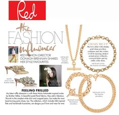 Thank you so much RED Magazine for featuring our chains in your style favourites... Chunky Jewelry, Simple Jewelry, Modern Jewelry, Statement Jewelry, Fine Jewelry, Jewellery, Layered Choker Necklace, Layered Chokers, Layered Jewelry