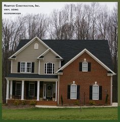 Brownstone in sanford nc bricks siding colors and for Schumacher homes catawba