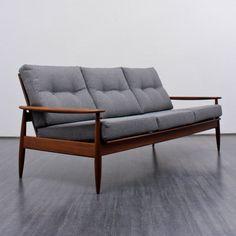 60s sofa, teak - Karlsruhe