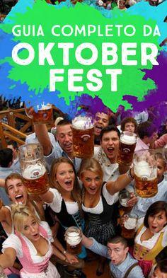 Dicas da Oktoberfest em Munique: o que beber, o que comer, informações sobre os galpões e tipos de cervejas, valores. Dicas da Oktoberfest de Blumenau!