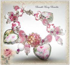 Broken China Bracelet  Broken China by brambleberrybracelet, $48.50