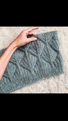 Knitting Videos, Free Knitting, Filet Crochet, Knit Crochet, Olay, Free Pattern, Diy And Crafts, Projects To Try, How To Make