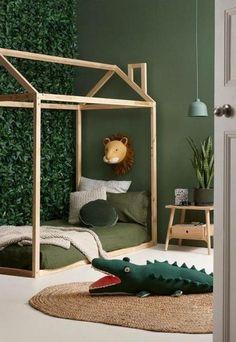 Outstanding Kids Jungle Room Design Ideas To Creative Explorer Safari Bedroom, Baby Bedroom, Baby Boy Rooms, Baby Room Decor, Childrens Bedroom, Boys Jungle Bedroom, Girls Bedroom, Bedroom Decor, Kids Bedroom Designs