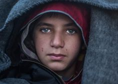 In the Eyes of a Young Syrian Refugee