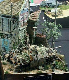 1/35 Jagdpanzer IV Diorama