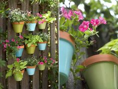 Spruce Up Your Fence with Hanging Pots DIY Ideas | Apartment Therapy