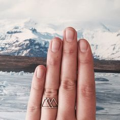 Mountains Ring (Sterling Silver)