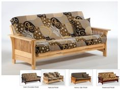 Full Size Autumn Futon Bed Package by Night & Day