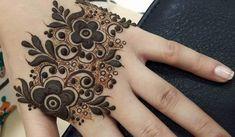 12 Easy And Trending Mehndi Designs For Eid Look here 12 simple and elegance Mehndi designs for Eid celebration. The art Latest Arabic Mehndi Designs, Mehndi Designs For Kids, Finger Henna Designs, Modern Mehndi Designs, Mehndi Designs For Fingers, Simple Mehndi Designs, Mehandi Designs, Tattoo Designs, Tattoo Ideas