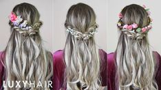 Flower-Crown Hairstyles for Prom
