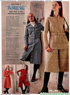 70s Fashion, Vintage Fashion, Womens Fashion, Fashion Trends, Christmas Catalogs, Christmas Books, Cheap Boutique Clothing, Fashion Boutique, 1970s Clothing