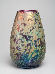 Decorative Arts and Furniture | Clément Massier - Les Fleurs Dorées - The Curator's Eye